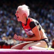 Drei Zentimeter zwischen Höhenflug und Untergang: Ariane Friedrich überquerte 1,93 Meter, scheiterte aber an 1,96 Metern.