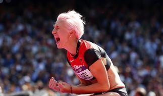 Drei Zentimeter zwischen Höhenflug und Untergang: Ariane Friedrich überquerte 1,93 Meter, scheiterte aber an 1,96 Metern. (Foto)