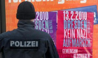 Dresden steht ein heißer Gedenktag bevor. (Foto)