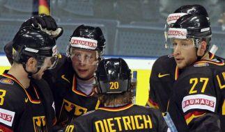 Dritter Sieg: DEB-Team behält Nerven im Shootout (Foto)