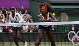Drittes Doppel-Gold für Williams-Schwestern bei Olympia (Foto)