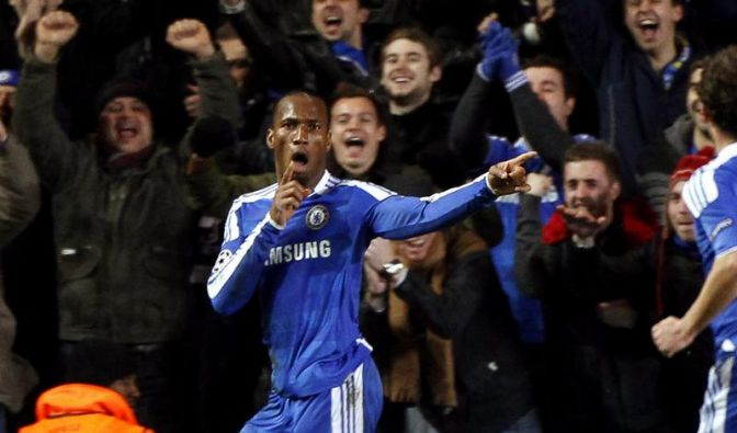 Drogba sorgt für Chelseas 2. Sieg unter Di Matteo (Foto)