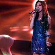 Angetreten war Verena mit dem Song Because Of You von Kelly Clarkson.