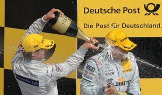 DTM-Vierfachsieg für Mercedes - Fehler bei Audi (Foto)