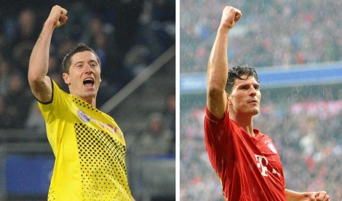 Duell der Torjäger: Lewandowski gegen Gomez (Foto)