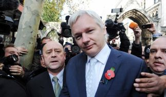 Dünne Luft für «Onkel» Assange (Foto)