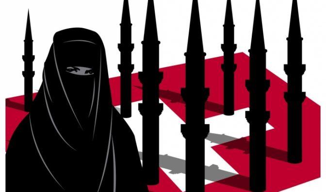 Düster und bedrohlich: Islambilder in Europa (Foto)