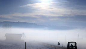 Dunst und Nebel sind in Europa seltener geworden (Foto)