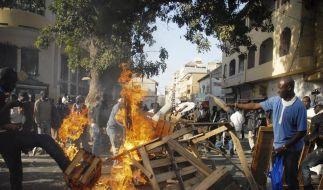 Dutzende Verletzte bei Unruhen im Senegal (Foto)