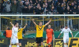 Dynamo gewinnt gegen Bayer (Foto)