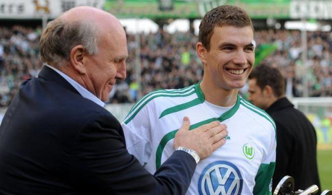 Dzeko bleibt beim VfL (Foto)