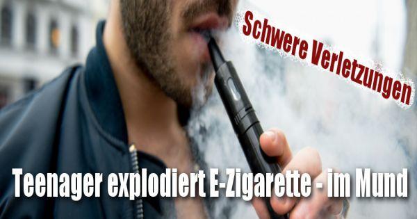 Zigarette Im Mund