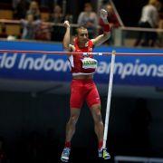Eaton im Siebenkampf auf Weltrekord-Kurs (Foto)