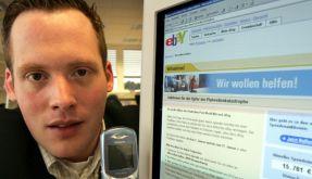 Ebay Versteigerung via Handy (Foto)