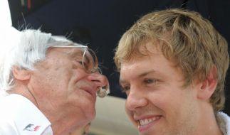 Ecclestone über Vettel: «Unschlagbar» (Foto)