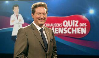 Eckart von Hirschhausen lädt heute Abend wieder zum Quiz des Menschen im Ersten. Thema unter anderem: Zwillinge. (Foto)