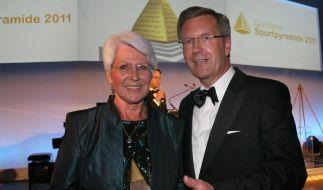 Ecker-Rosendahl erhält «Goldene Sportpyramide» (Foto)