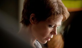 Edda (Jessica Schwarz) hat Lymphdrüsenkrebs im Endstadium. (Foto)