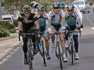 «Edelhelfer» Armstrong trainiert mit Contador (Foto)
