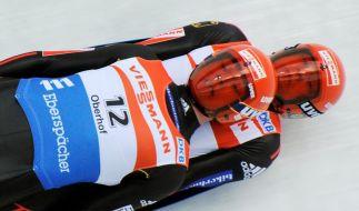 Eggert/Benecken holen ersten Rodel-Weltcup-Sieg (Foto)