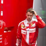 Mit diesem Helm fährt Sebastian Vettel für Schumi (Foto)