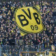 Nach Ausschreitungen ihrer Fans! Borussia Dortmund akzeptiert Strafe (Foto)