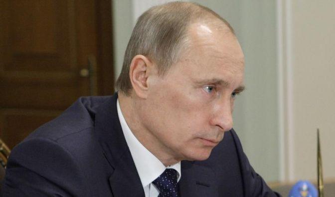 Ein Berg für Wladimir Putin (Foto)