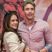 Ein Bild aus glücklichen Tagen: Jessica Paszka und David Friedrich.