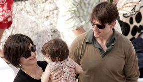 Ein Bild aus glücklicheren Zeiten: Tom Cruise mit Katie Holmes und Tochter Suri. (Foto)