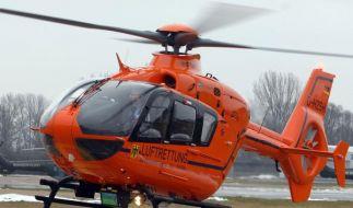 Ein Brite brachte einen Hubschrauber mit bloßen Händen beinahe zum Absturz. (Foto)