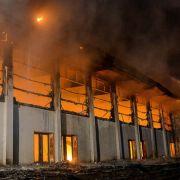 Nach Großfeuer in Flüchtlingsheim - zwei Bewohner vor Gericht (Foto)