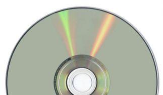 Ein DVD-Rohling (Foto)