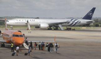 Ein Flugzeug von Air France musste in Kenia notlanden. (Foto)