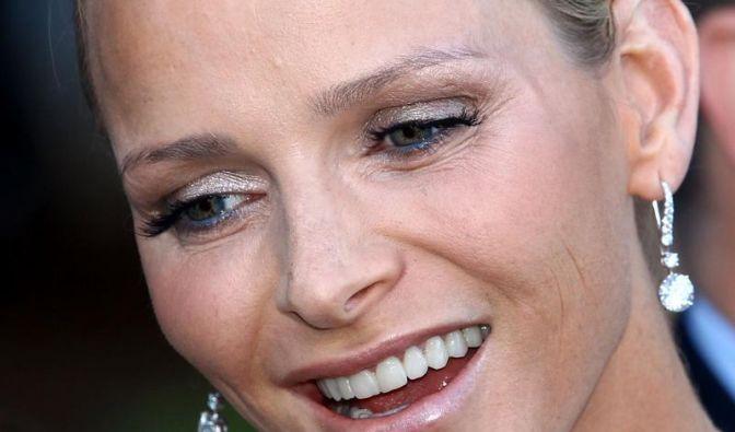 Ein goldenes Herz für Charlène von Monaco (Foto)