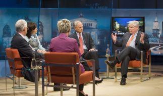 Ein großes Ziel: Maybritt Illner wollte mit ihren Gästen die Lage der Wirtschaft erklären. (Foto)
