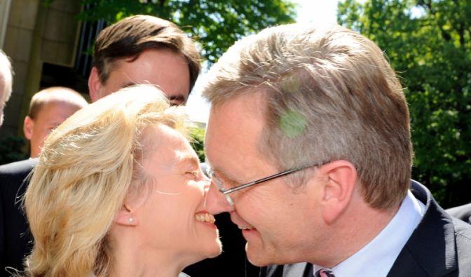 Ein Küsschen in Ehren (Foto)
