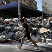 Müll-Bürgerkrieg tobt im Libanon (Foto)