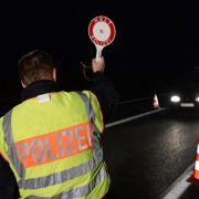 Umfrage ergibt hohe Zustimmung der Deutschen zu Grenzkontrollen (Foto)