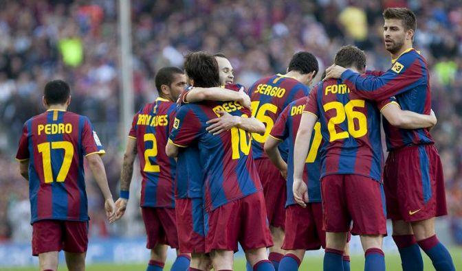 Ein Punkt fehlt: FC Barcelona vor Titelgewinn (Foto)