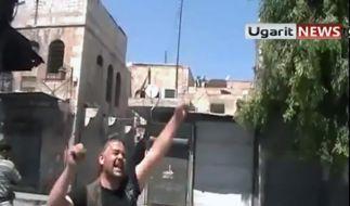 Ein verwundeter Rebell. Was passiert mit dem geschundenen Land, wenn Diktator Assad besiegt ist? (Foto)