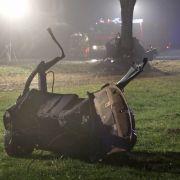 Horror-Crash! 4 Teenies rasen in den Tod (Foto)