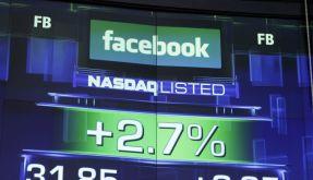Ein leichter Zugewinn, aber noch immer weit unter dem Ausgabepreis: die Facebook-Aktie an der Wall Street. (Foto)