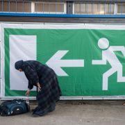 Asylbewerberin will, aber darf Deutschland nicht verlassen (Foto)