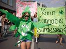 Eine Demo für die Legalisierung von Cannabis. (Foto)