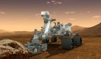Eine Entdeckung des Mars-Roboters «Curiosity» im Mars-Sand ließ die Forscher grübeln. (Foto)