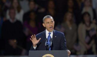 Eine der härtesten Aufgaben für einen US-Präsidenten: Barack Obama muss den Haushalt sanieren. (Foto)