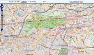 Eine Karte für alle:Online-Atlas Open Street Map (Foto)