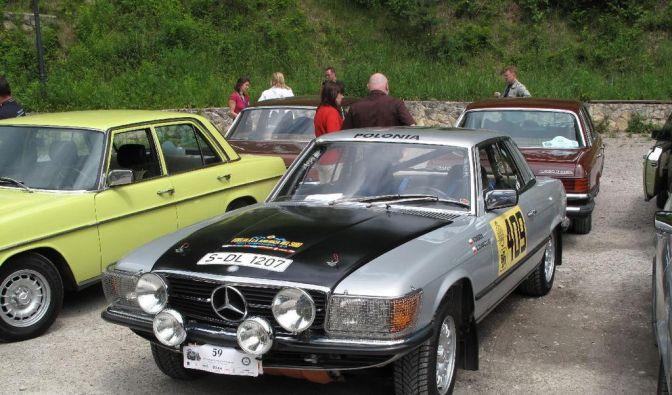 Eine seltene Legende: Angeblich existieren nur noch sechs Exemplare des Rallye-SLC.  (Foto)