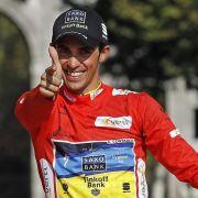 Eine Ohrfeige für die Dopingjäger: Nach dem Ende seiner Sperre gewann Kalbfleischliebhaber Alberto Contador die Spanien-Rundfahrt.