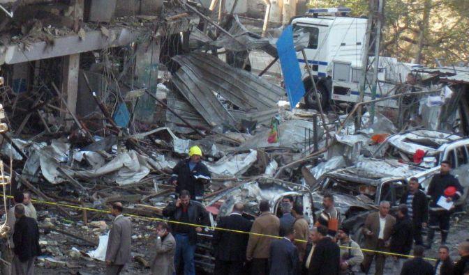 Eine Serie von Bombenattentaten hat Bagdad erschüttert. (Foto)